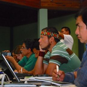 Plotting participation: training indigenous communities to map the Amazon