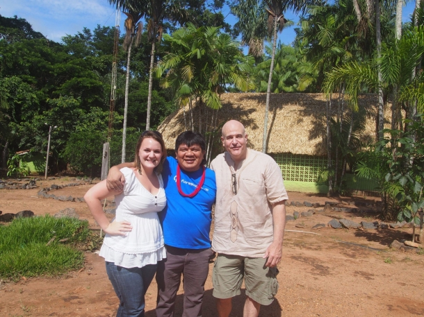 Rachael, Chief Almir, Steve Zwick (from left to right)